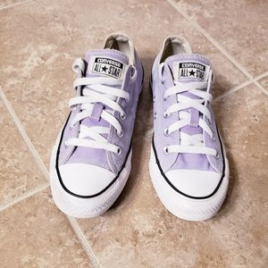 Lilac Purple Converse All Star Chuck Taylors